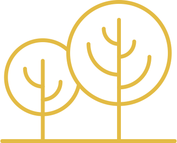 yellow tree icon