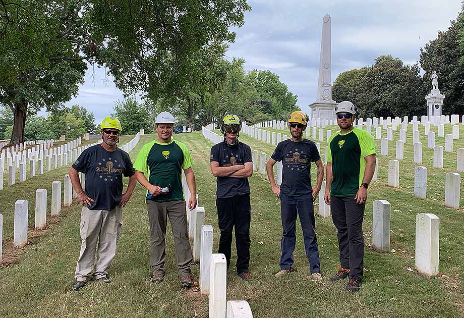 Saluting Branches: Arborists United for Veteran Remembrance