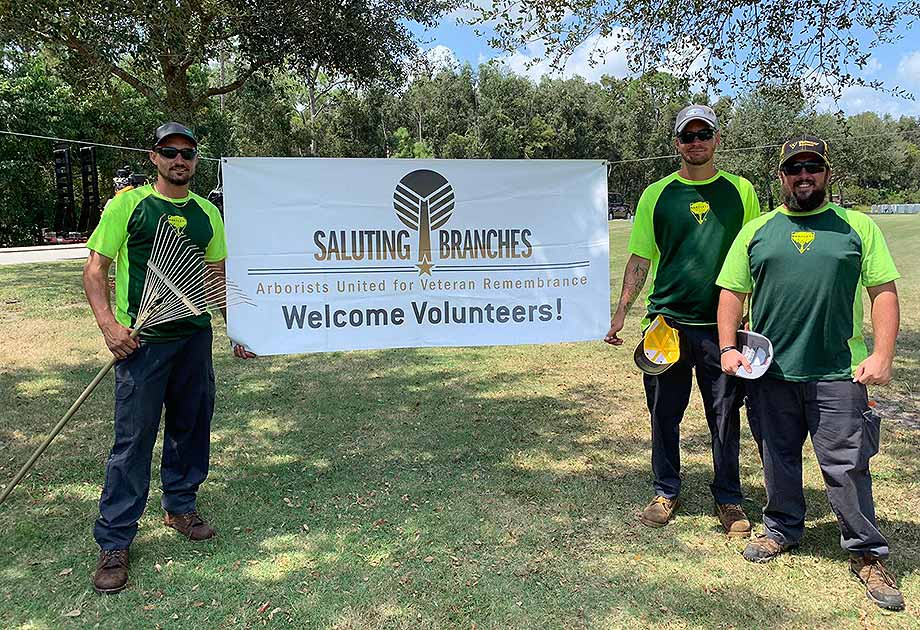 Saluting Branches National Day of Service 2019 at Florida National Cemetery